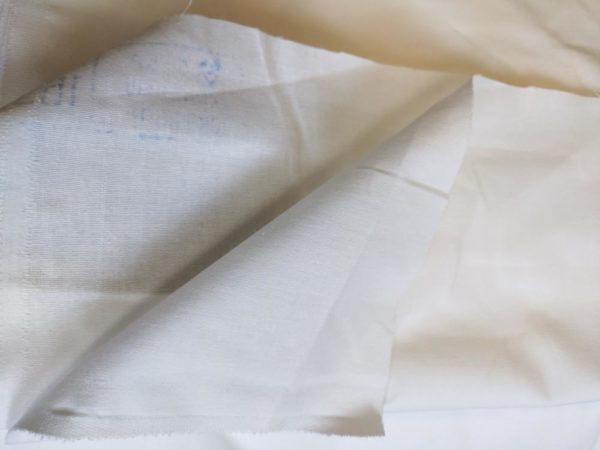 Бязь отб. ширина 150, плотность 140 гр.м.кв. Структура ткани