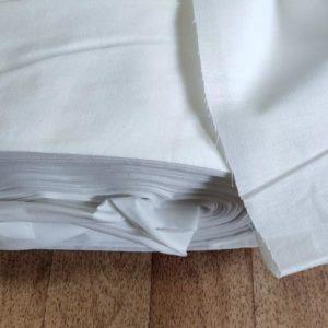 Бязь отб. шир.150 дублированная плотность 120 гр.м.кв. текстура ткани