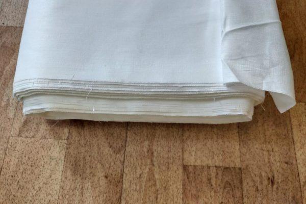 Бязь отб. 80 пл. 120 структура ткани