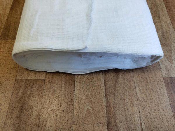 Вафельная полотенечная ткань шир.45 см. плотность 120 гр.м.кв Кромка